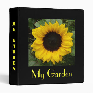 Sunflower Grace 3 Ring Binder