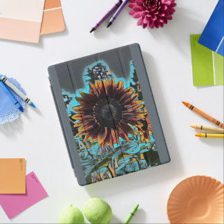 Sunflower Graphic Design iPad Cover