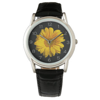 Sunflower Grey Numbers Mens Watch