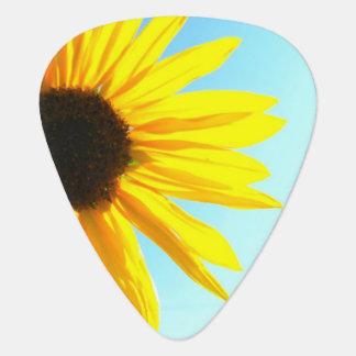 Sunflower Guitar Pick