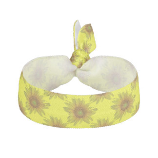 Sunflower Hair Tie