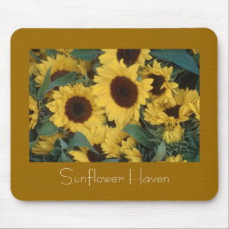 Sunflower Haven Mouse Pad