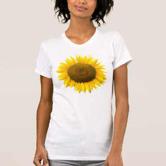 Sunflower, heart inside / Ladies Camisole (Fitted) T-Shirt