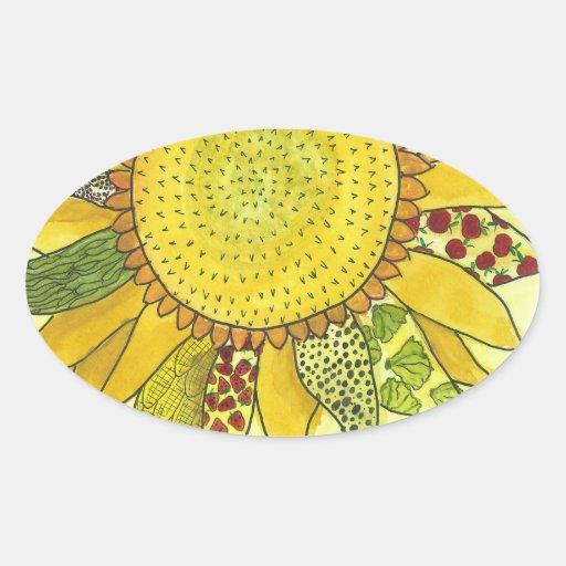 Sunflower II Sticker