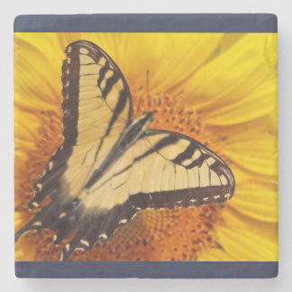 sunflower III coaster Stone Beverage Coaster