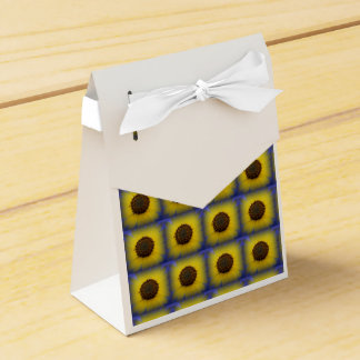 Sunflower in Blue Treat Box
