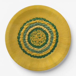 """Sunflower in Spring 9"""" 9 Inch Paper Plate"""