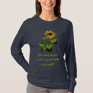 Sunflower in the blue sky T-Shirt