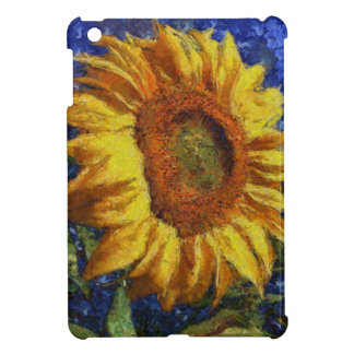 Sunflower In Van Gogh Style Case For The iPad Mini