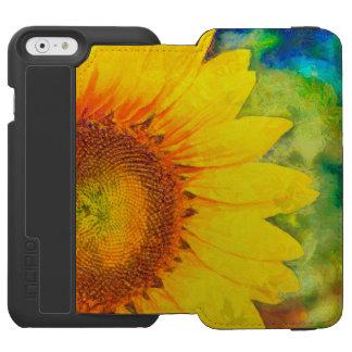 Sunflower Incipio Watson™ iPhone 6 Wallet Case