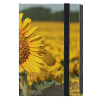 Sunflower iPad Mini Case with Kickstand