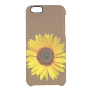 Sunflower iPhone 6 Clear Case