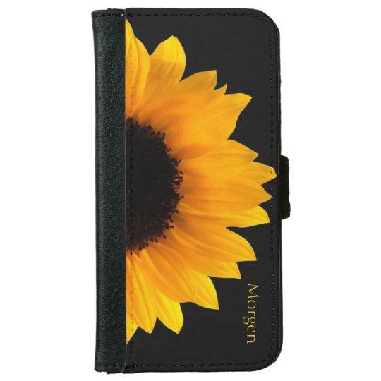 Sunflower iPhone 6 Wallet Case