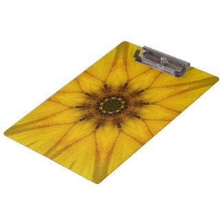 sunflower kaleidoscope clipboards
