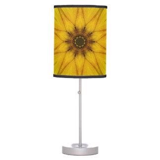 sunflower kaleidoscope table lamp