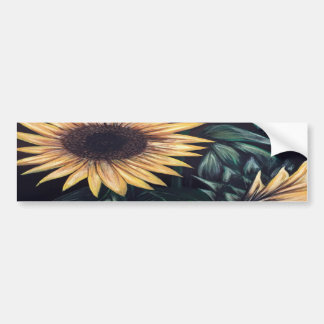 Sunflower Life Bumper Sticker
