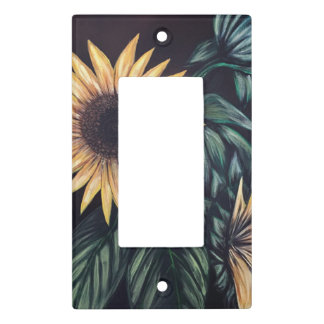 Sunflower Life Light Switch Cover
