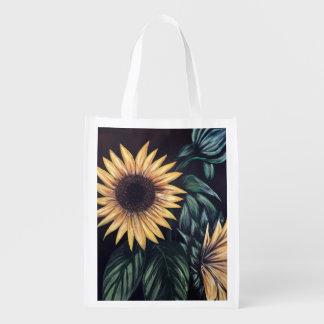 Sunflower Life Reusable Grocery Bag