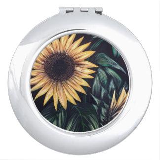 Sunflower Life Travel Mirrors