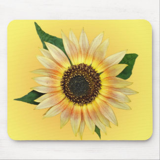 Sunflower Light Mouse Pad