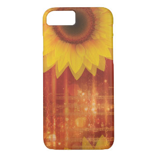 Sunflower, Love and Happiness iPhone 7 Case