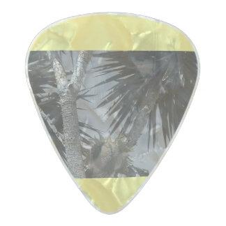 Sunflower love pearl celluloid guitar pick