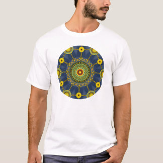 Sunflower Mandala Array T Shirt