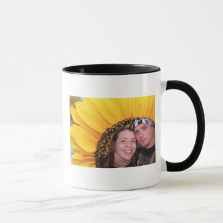 sunflower me and dan mug