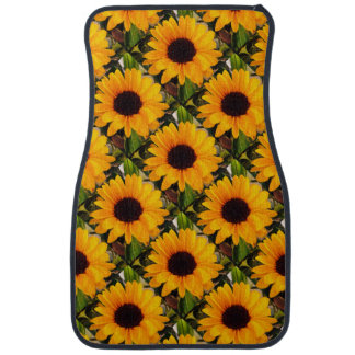 Sunflower Menagerie 4Olivia Car Mat