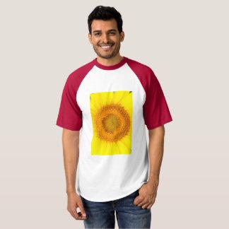 Sunflower Men's Baseball T-Shirt