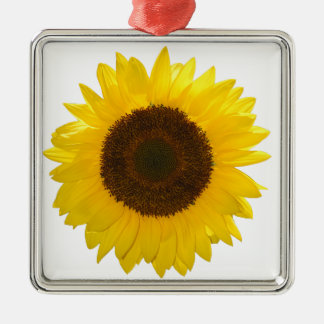 Sunflower Metal Ornament
