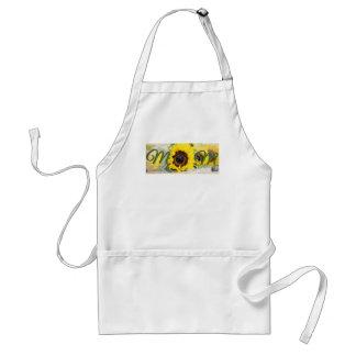 Sunflower Mom Standard Apron