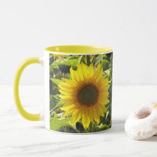 Sunflower Morning Mug