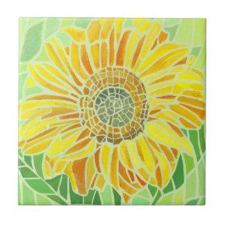 Sunflower Mosaic Tyle Tile