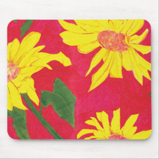 Sunflower Mouse Mat Mouse Pad