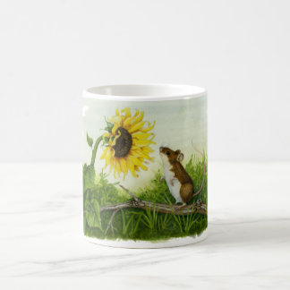 Sunflower Mouse mug