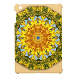 Sunflower Nature, Flower-Mandala iPad Mini Covers