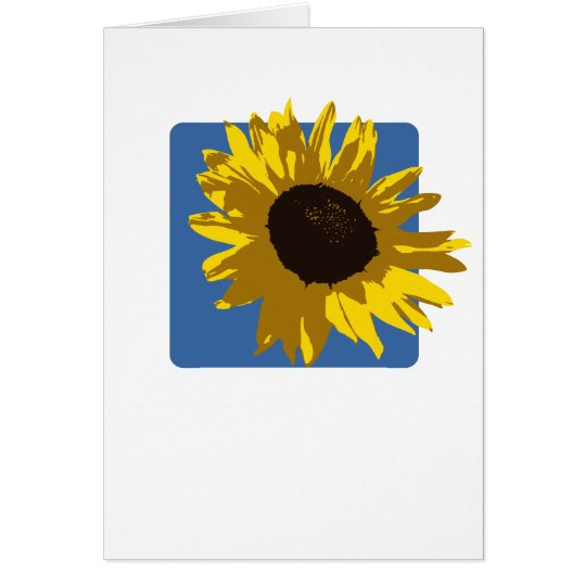 Sunflower Note Card (Blank)