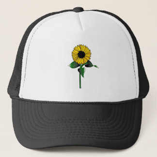 SunFlower on Trucker Hat