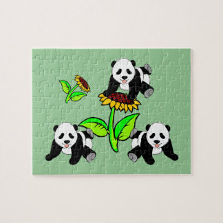 Sunflower Pandas Puzzle