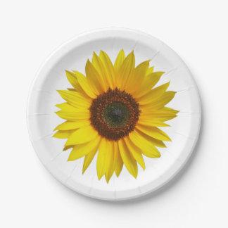Sunflower Paper Plates