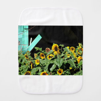 Sunflower Parade Burp Cloth