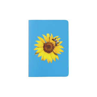 """Sunflower"" Passport Holder"