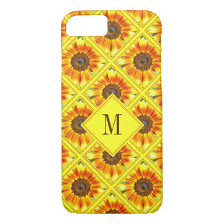 Sunflower Pattern Case-Mate iPhone Case