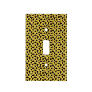 Sunflower Patterned Electrical Switch Covers