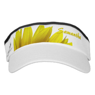 Sunflower Personalized Visor