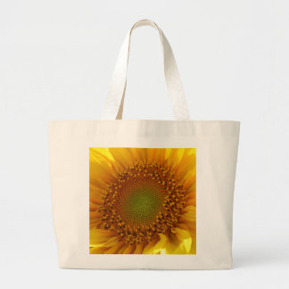 Sunflower Photo Large Tote Bag