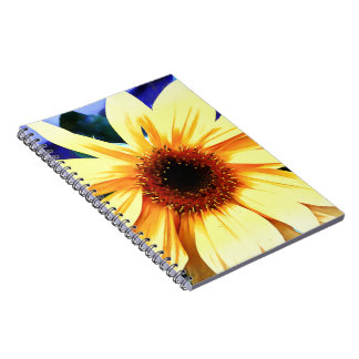 Sunflower Photo Notebook (80 Pages B&W)