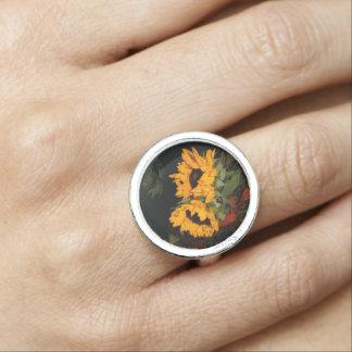 Sunflower Photo Ring