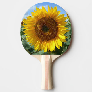 Sunflower Ping Pong Paddle